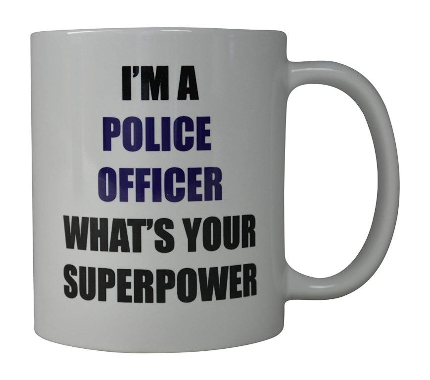 Jamieewer cup I'm a police officer (Limited Stocks)