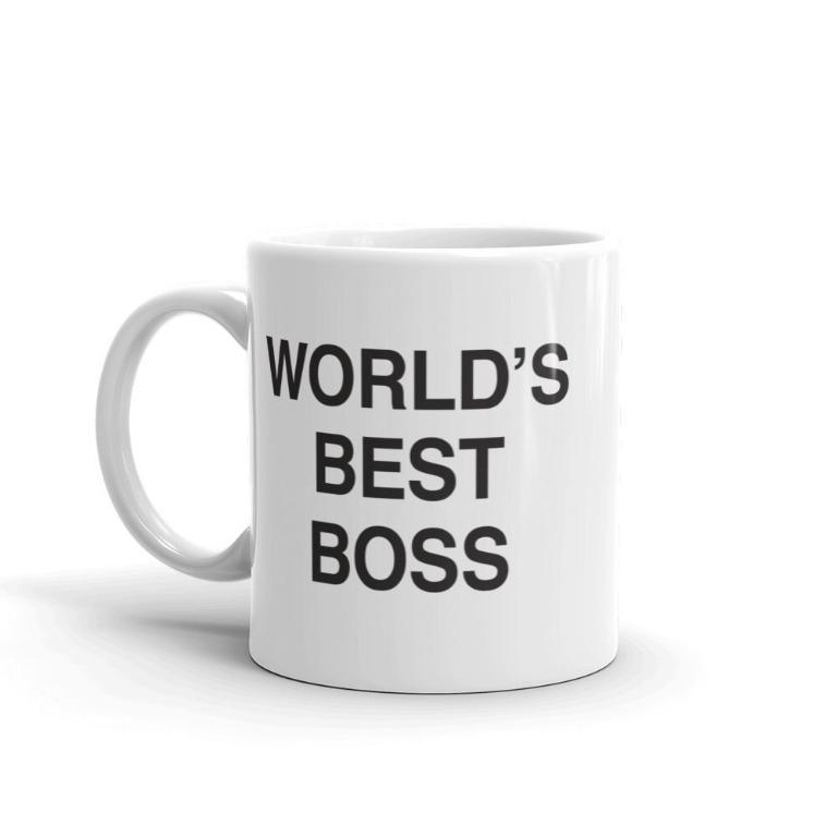 Jazielewer cup – World's Best Boss (Limited Stocks)