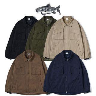 Jks防風哈靈頓外套 風衣 衝鋒外套 MK2 (棕色)(M)