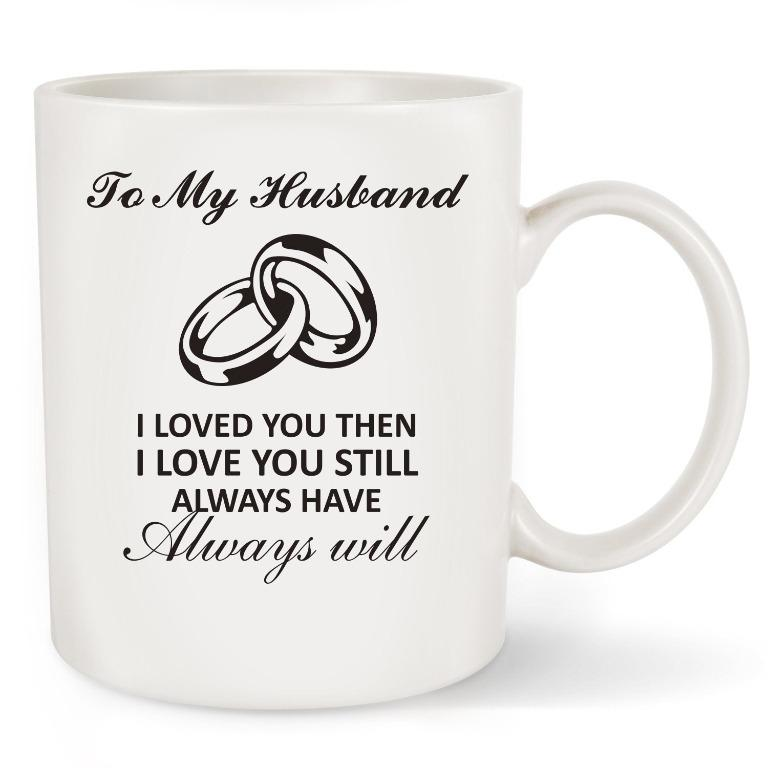 Joziahewer cup - To my husband(Limited Stocks)
