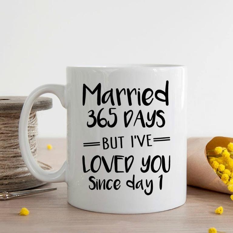Kelvinewer cup Married 365 days (Limited Stocks)