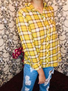 Kemeja Mustard Wanita