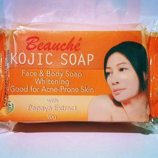 Kojic Soap Whitening with Papaya