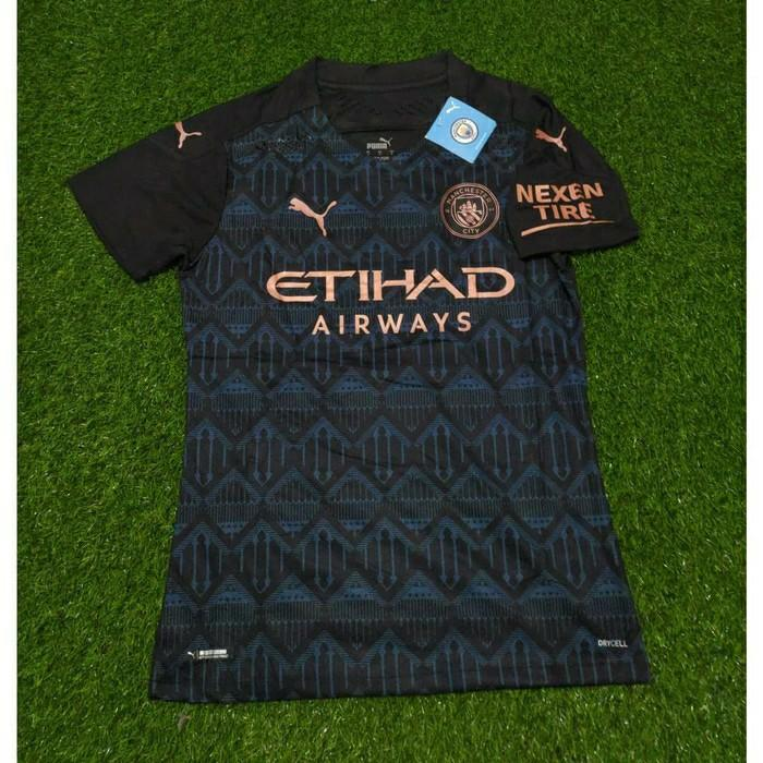Manchester City Jersey Away 2020 2021 Men S Fashion Activewear On Carousell