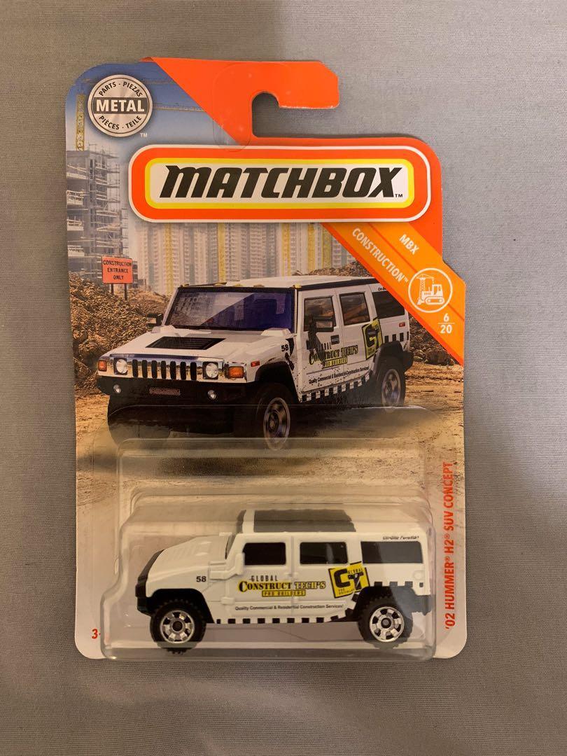 Matchbox 2002 Hummer H2 SUV concept