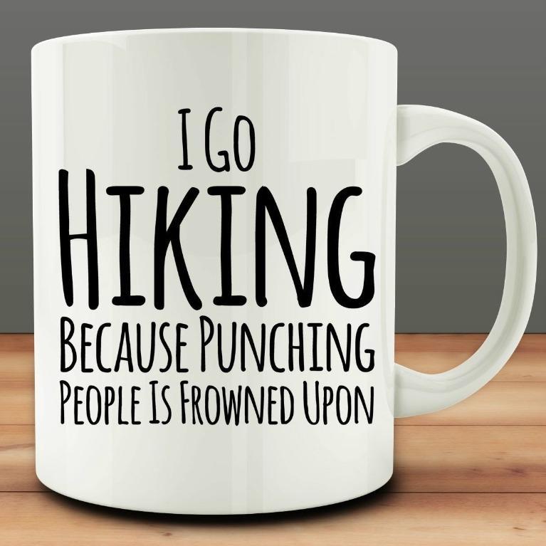Mordechaiewer cup I go hiking (Limited Stocks)