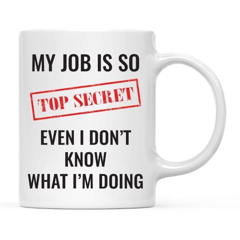 Noeewer cup – My Job is so top secret (Limited Stocks)
