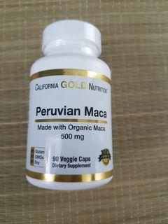 Peruvian Maca Organic Caps