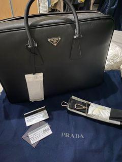Prada Saffiano Travel Briefcase - BNEW and AUTHENTIC