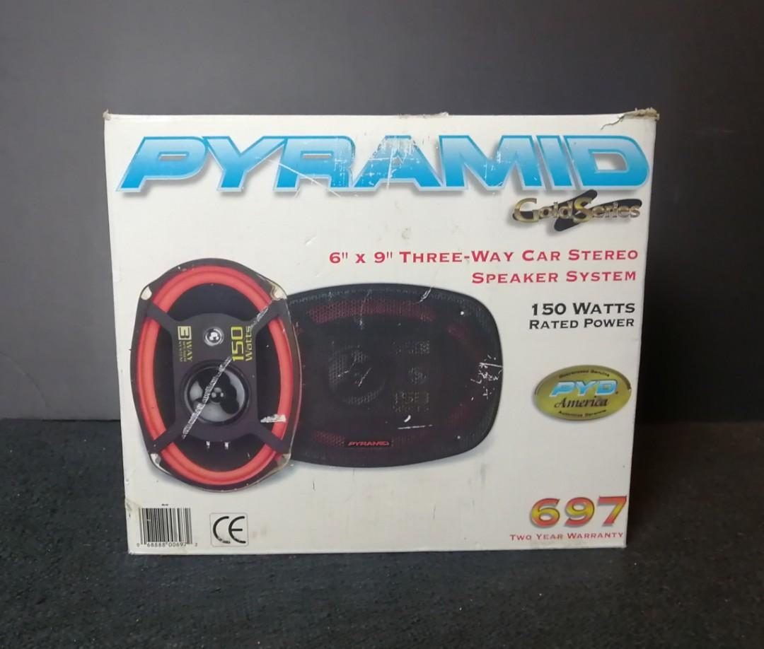 "Pyramid 697 6"" x 9"" Triaxial Speaker"