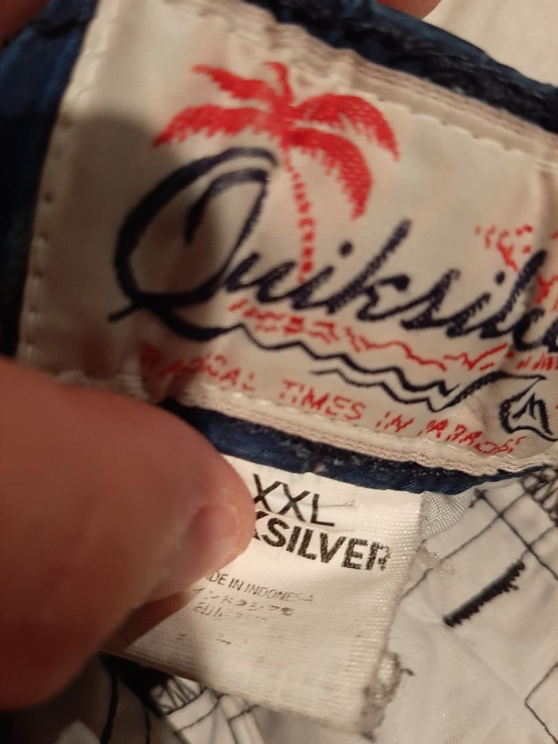 Quick silver board shorts XXL