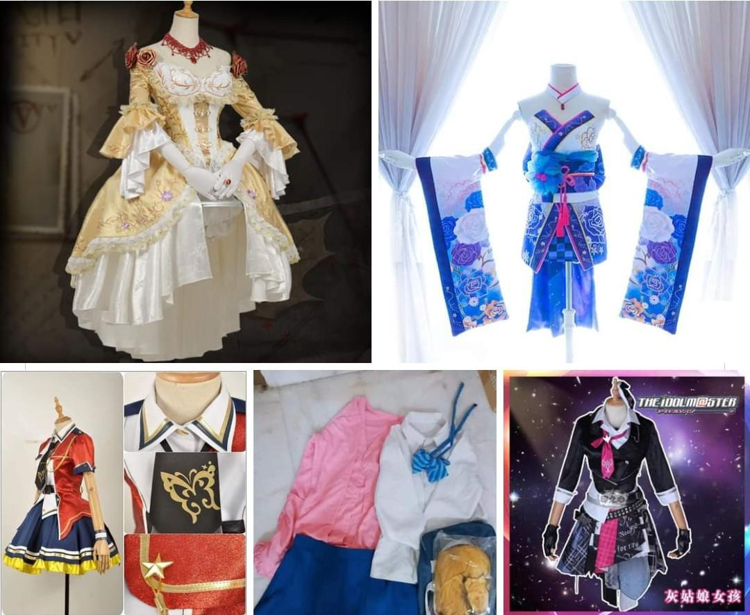 RM300 FOR ALL for Idolm@ster costume