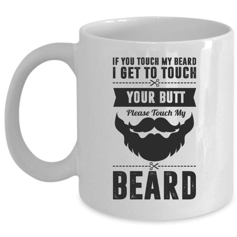 Tommyewer cup touch my beard (Limited Stocks)