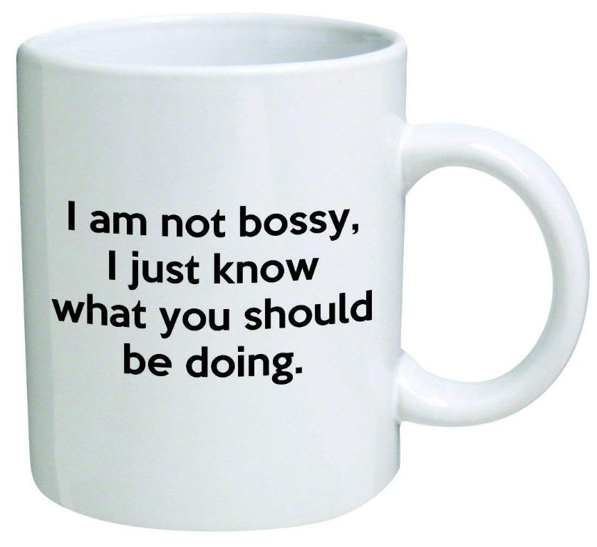 Trentewer cup- I am not bossy (Limited Stocks)