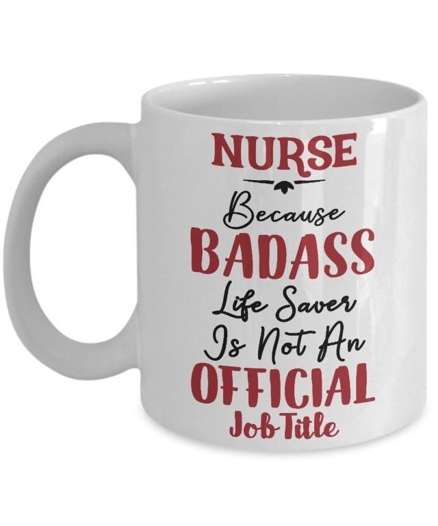Valentinewer cup Nurse badass life(Limited Stocks)