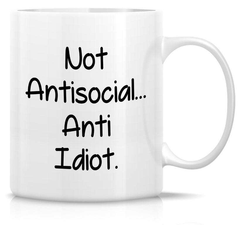Wayneewer cup Not antisocial (Limited Stocks)