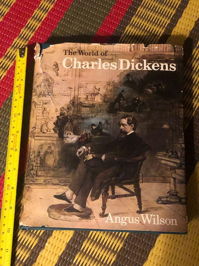 World of Charles dickens by Angus Wilson hardcover book