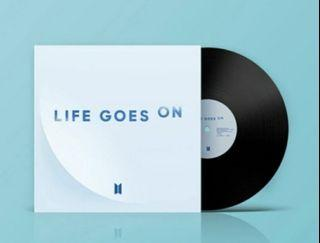 《WTB》BTS LIFE GOES ON VINYL