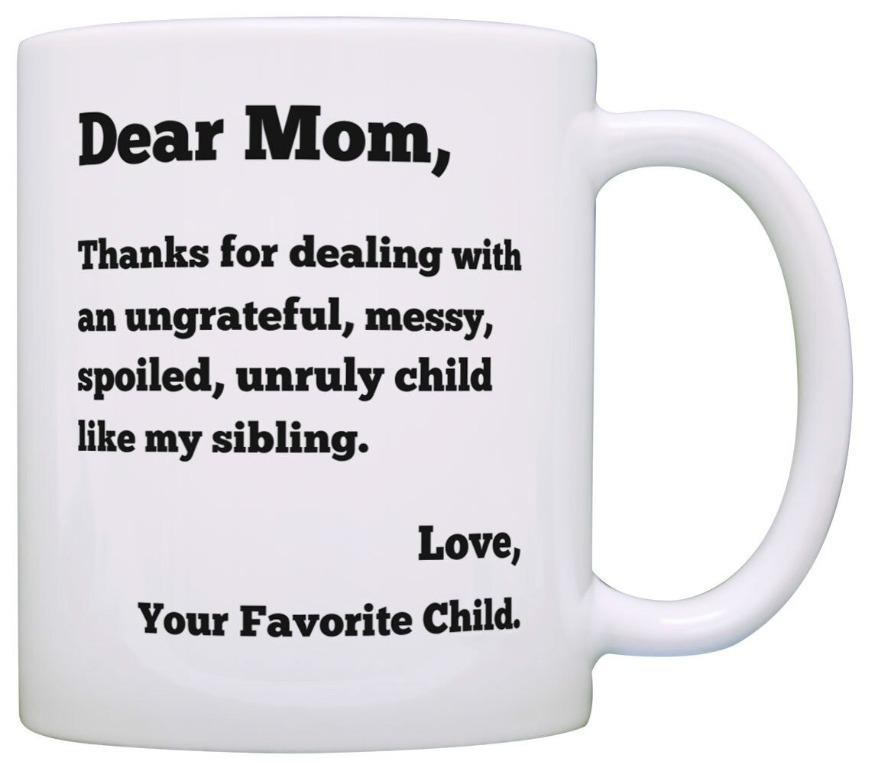 Zyaireewer cup Dear mom thanks (Limited Stocks)