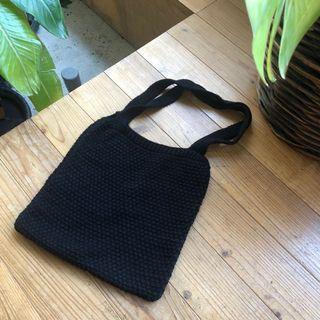 黑色針織包