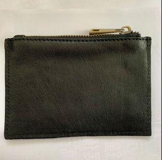 全新意大利🇮🇹散紙包 - 型格黑色 (可放鎖匙,信用卡,紙幣,硬幣)