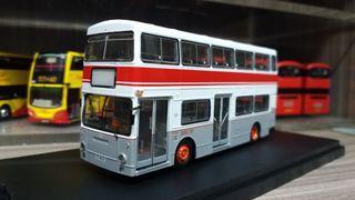 P&T 巴士模型 城巴 港鐵 地鐵接駁巴士 Daimler Fleetline D28 MTR 1/76  #非九巴中巴 新巴