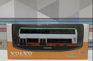 新巴 NWFB Volvo Super Olympian 12m 5103 682 巴士模型 非tiny微影城巴ctb九巴kmb