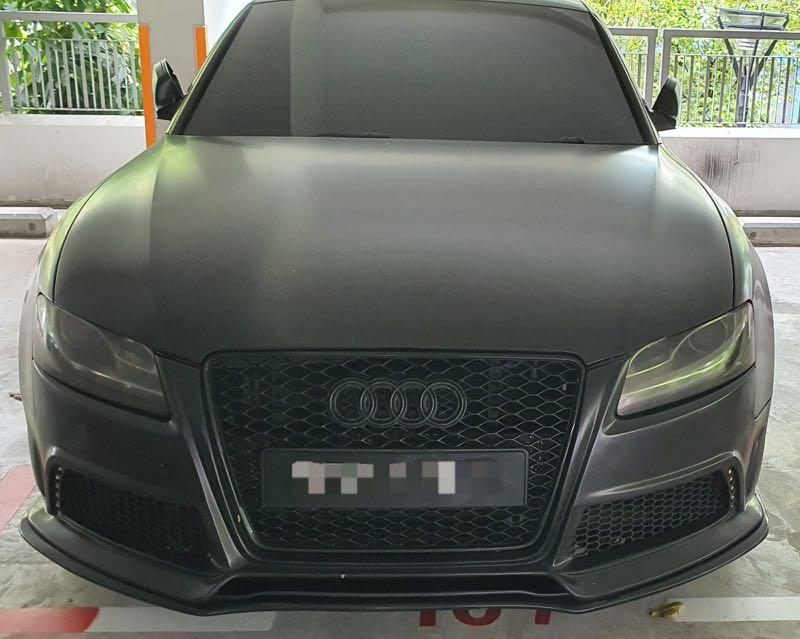 Audi A5 coupe for rent!