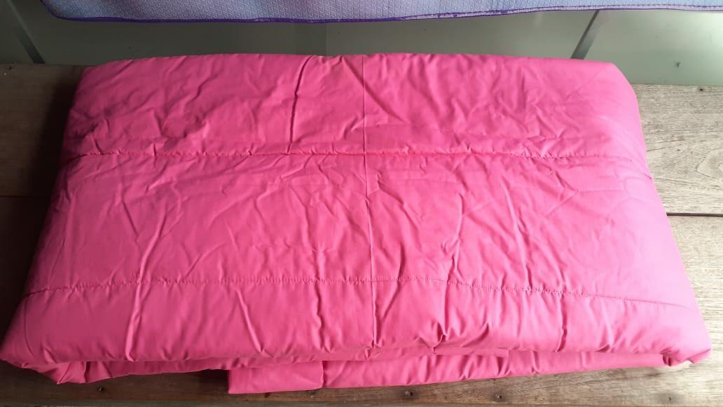 Bed cover katun bolak balik 150x225