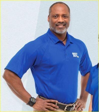 Best Buy Uniform Polo T-Shirt