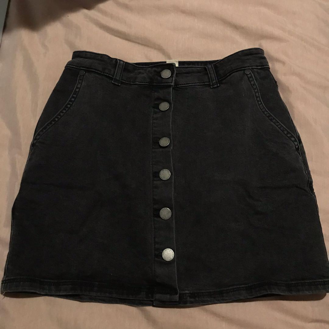Black Roxy Skirt