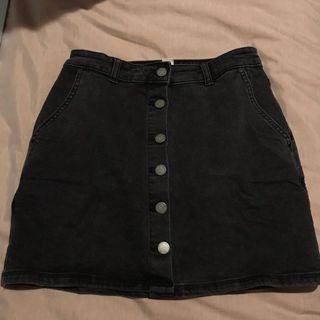 Black Roxy Skirt
