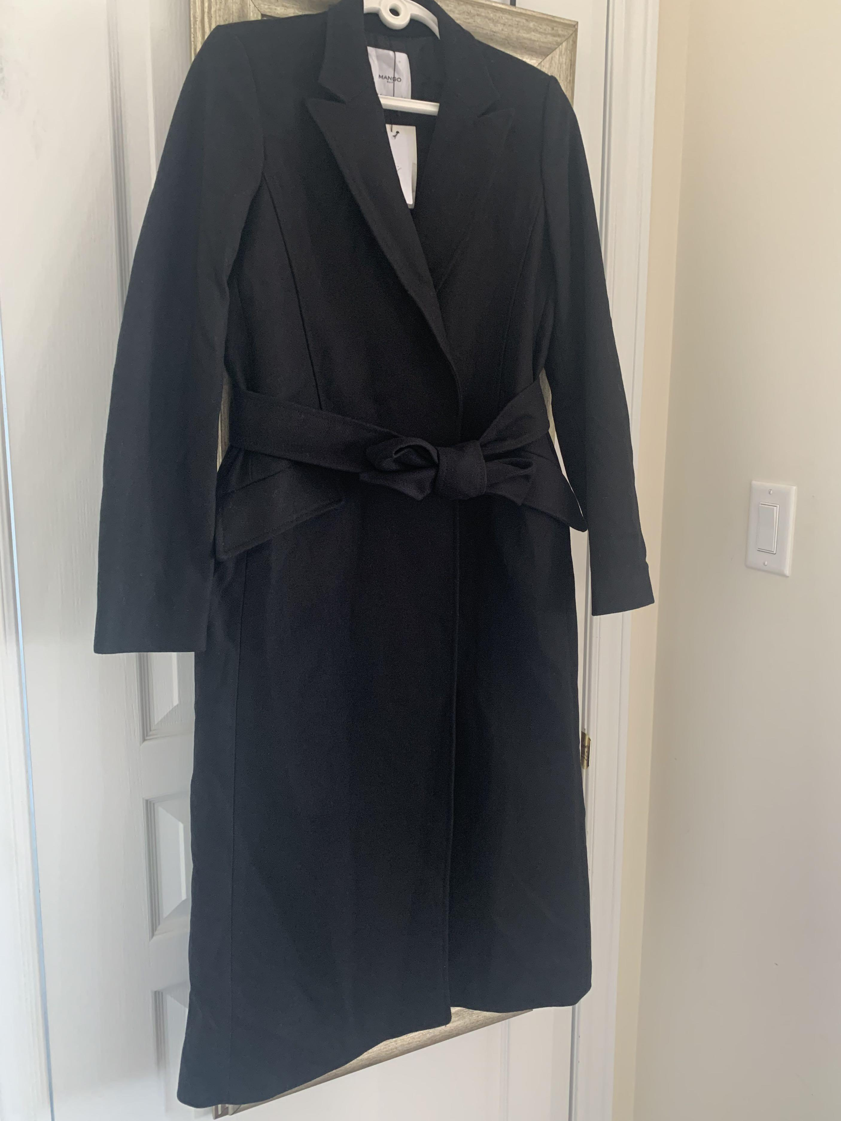 BNWT Mango Wool Coat