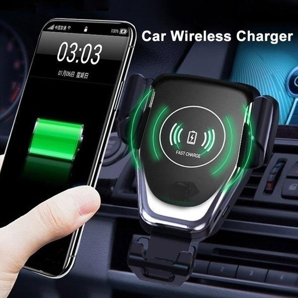 Car Mobile Phone Wireless Charger Mount