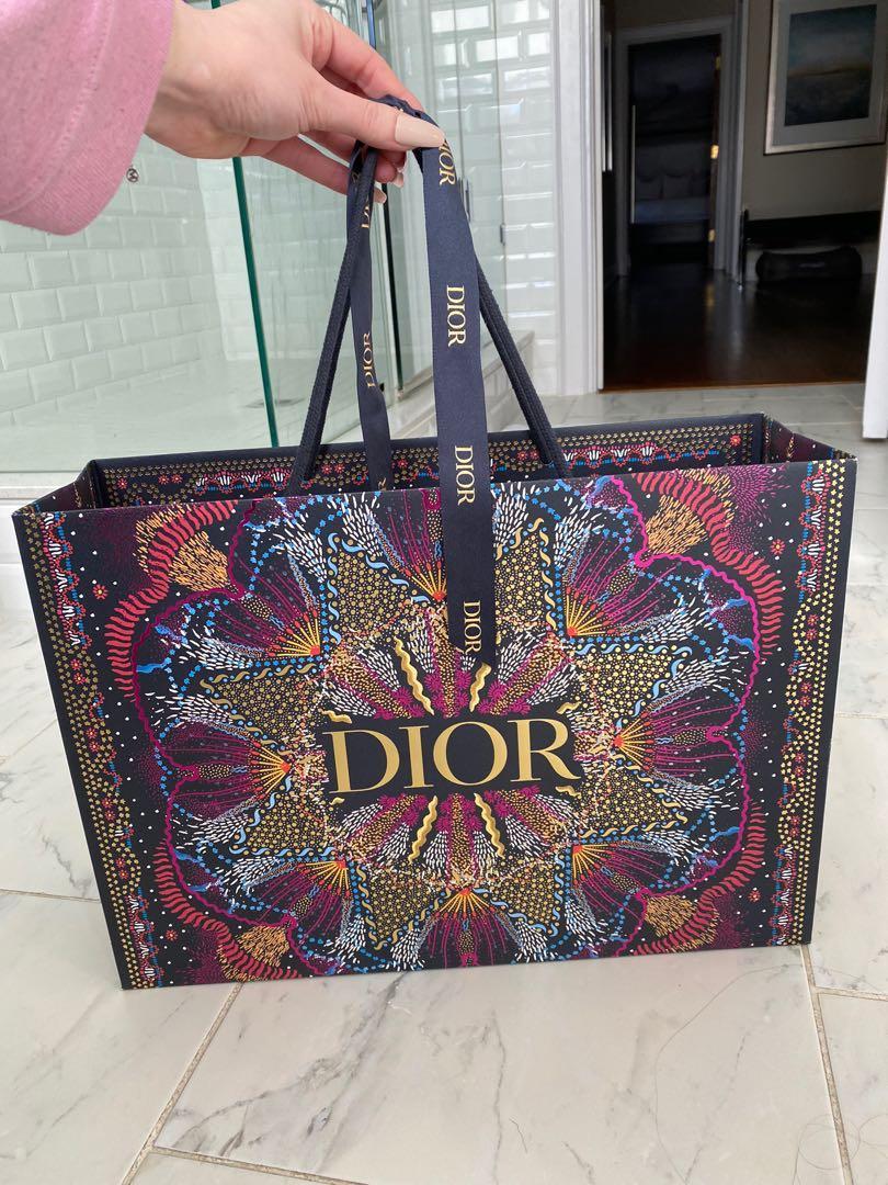 Dior Holiday 2020 Shopping Bag