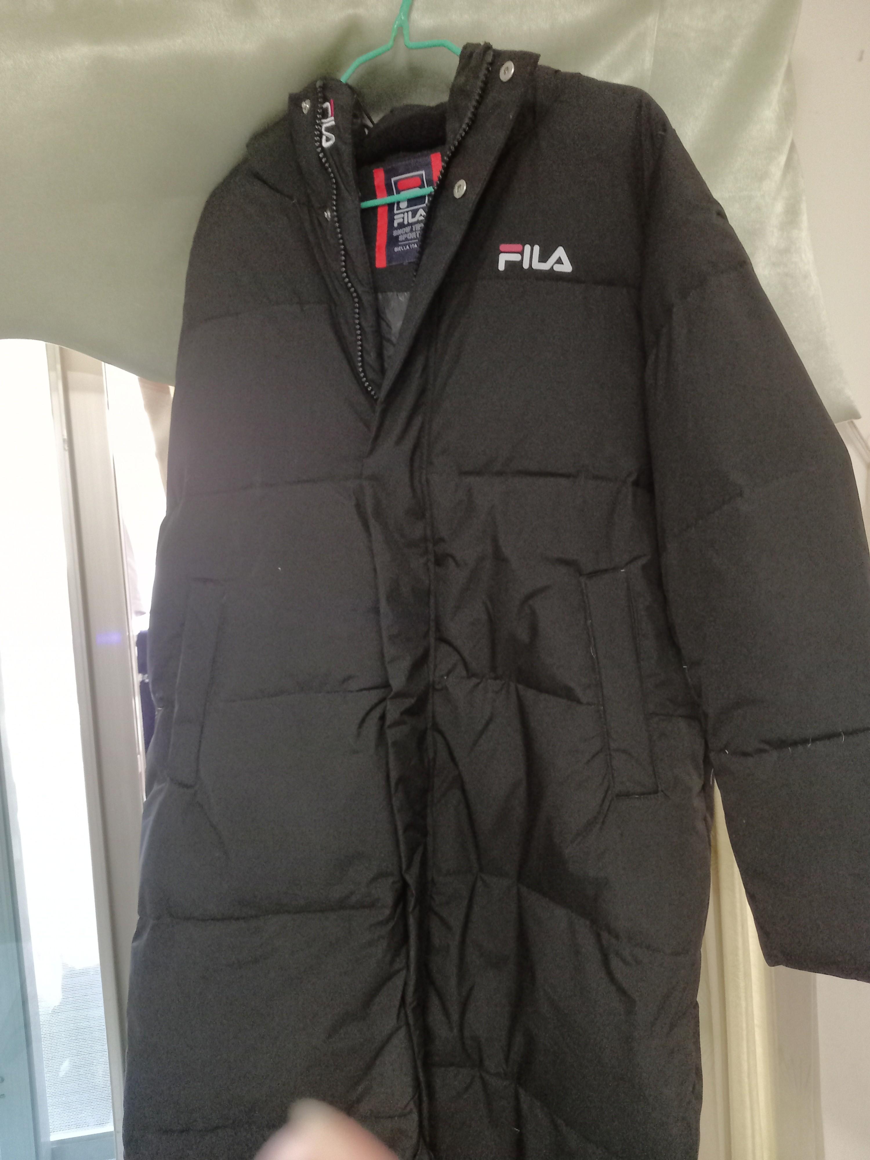 FILA風衣長版外套