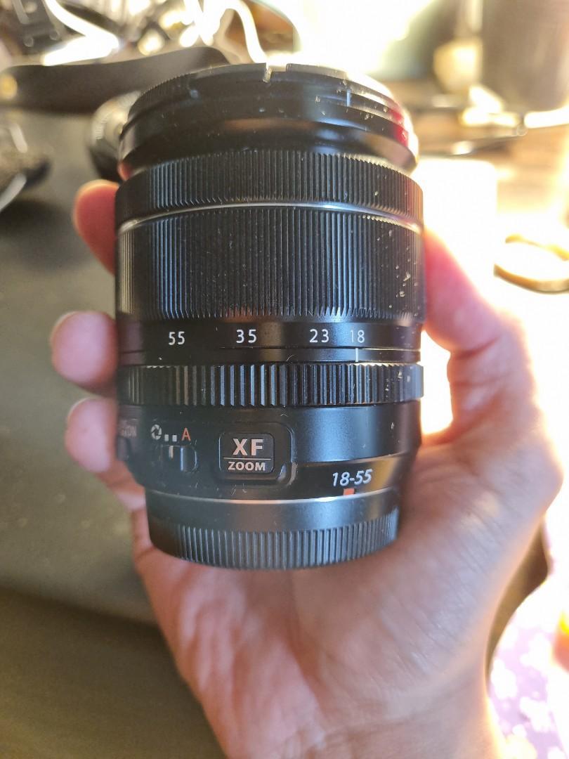 Fujinon lens XF 18-55mm