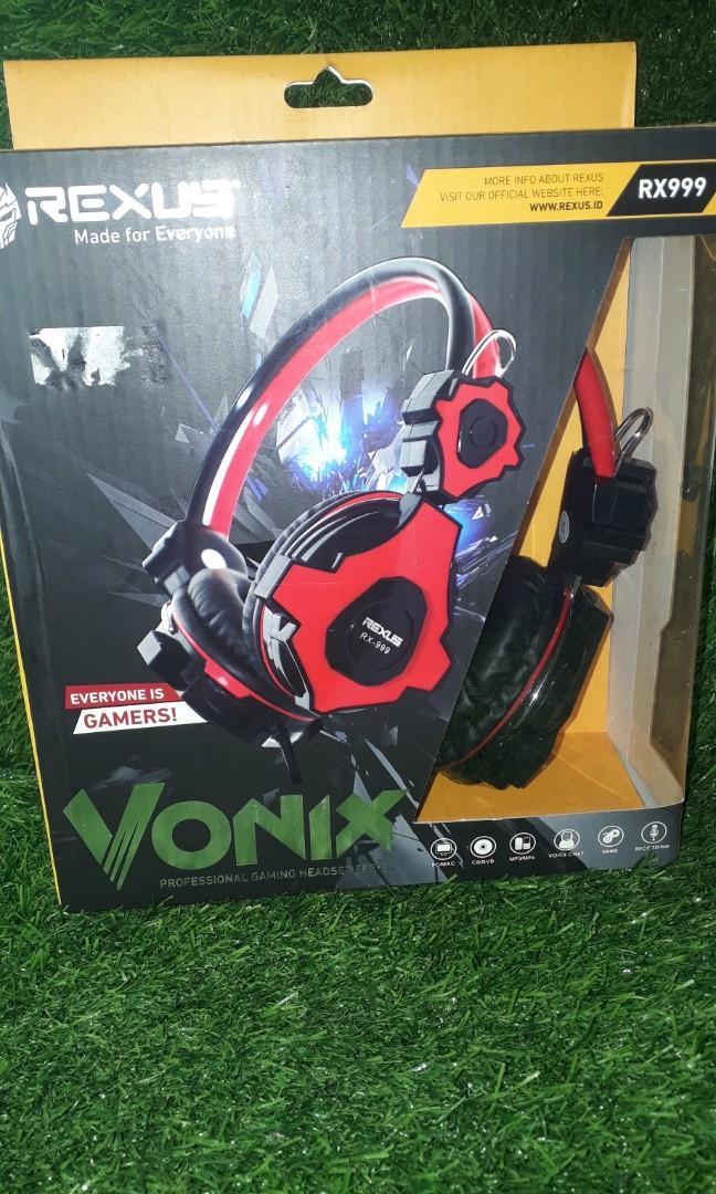 headphone rexus vonix