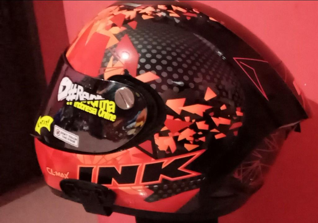 Helm INK CL MAX Series 6 Red
