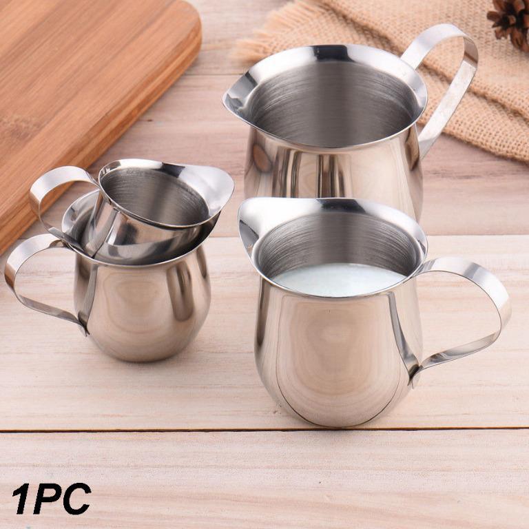HOUSEEN Gelas Pitcher Kopi Espresso Latte Art Milk Jug Stainless Steel 150ml - DLSC060