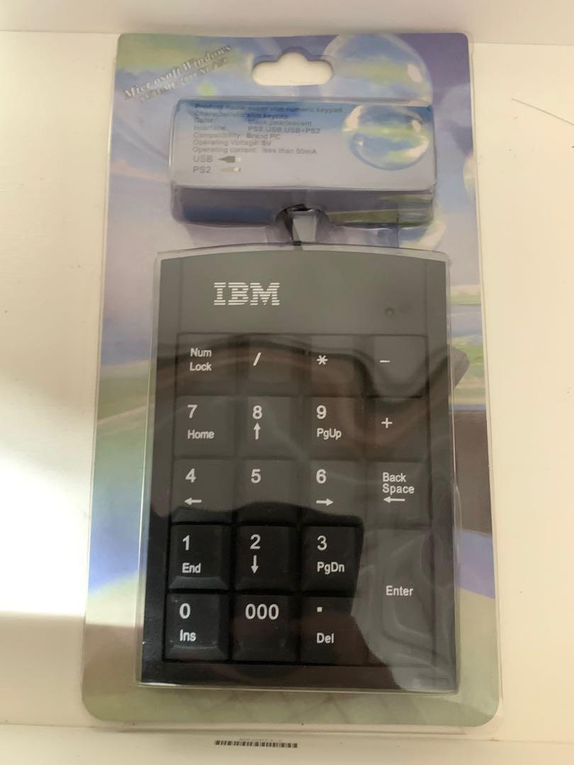 IBM數字鍵盤(贈相機清潔組)