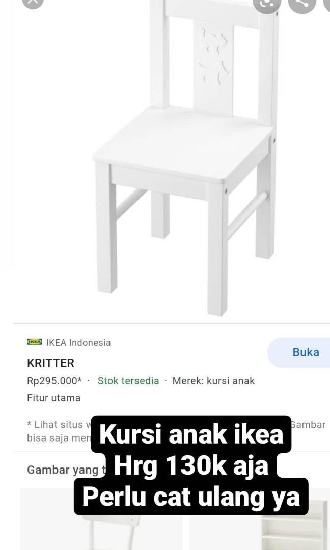 Kursi belajar anak IKEA