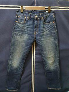 Levis 501 CT white oak cone denim 牛仔褲 刷色褲