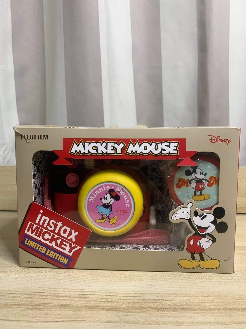 Limited Edition Mickey Mouse Instax