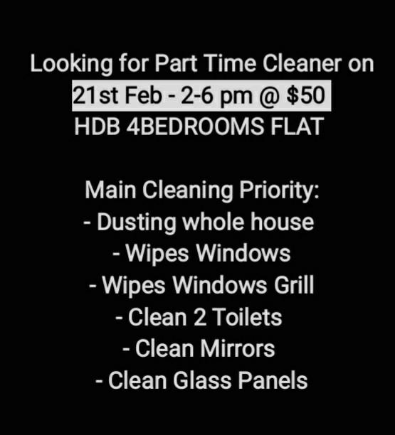 Looking Local Cleaning (part time)