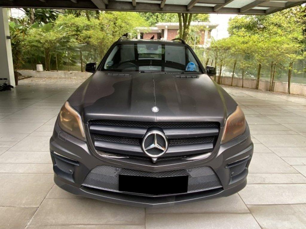 Mercedes-Benz GL350 BlueTec 4Matic (A)
