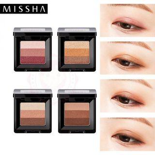 Missha經典三色眼影#9號