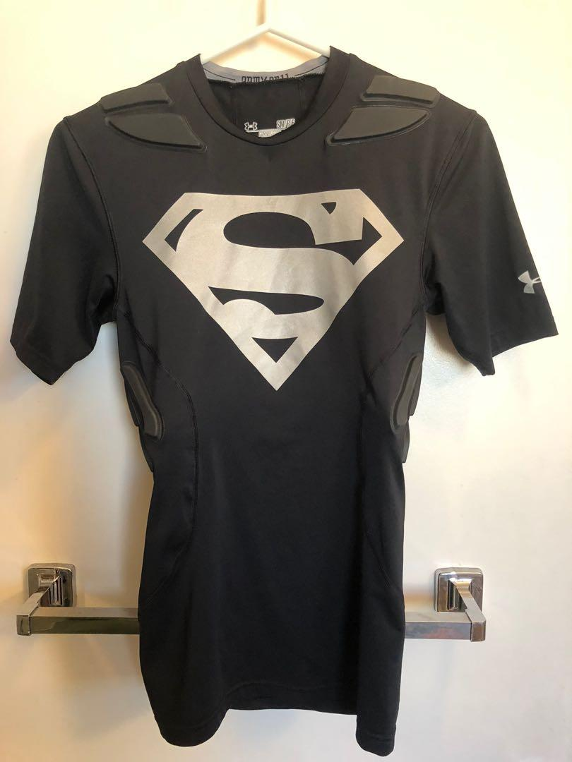 NEW Under Armour DC Comics Superman Compression t shirt size small