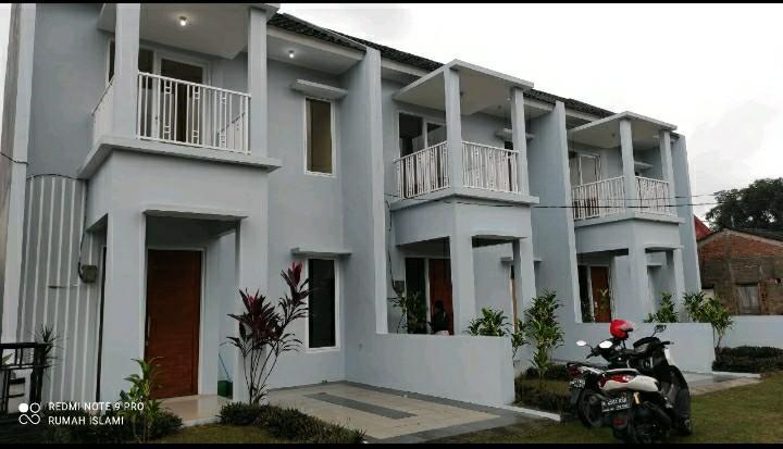 Rumah 2 lantai di jatisari jati asih pinggir jalan raya