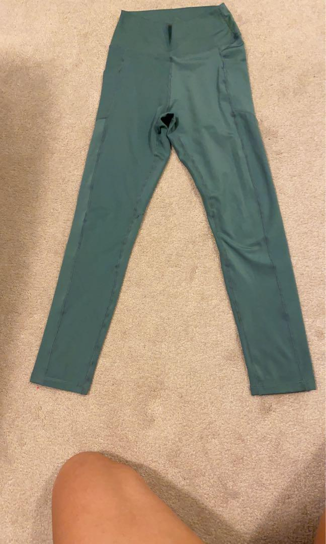Sage green leggings size S